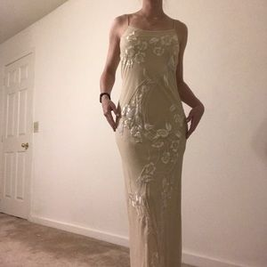 Dresses & Skirts - *SOLD* beaded formal gown
